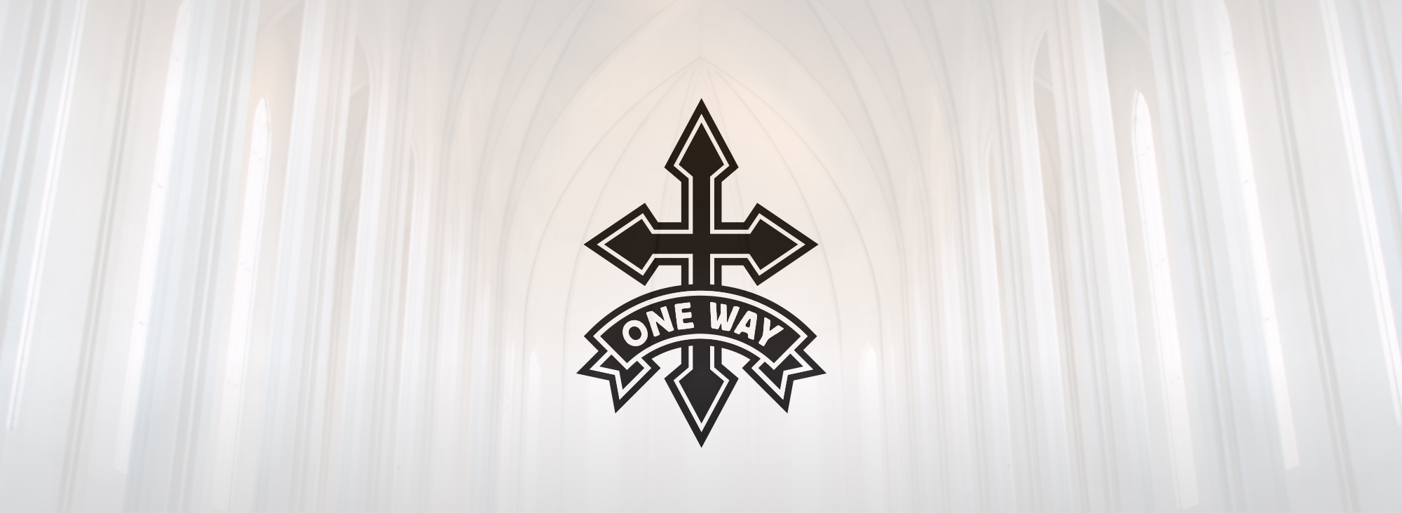 Onewaylogo background